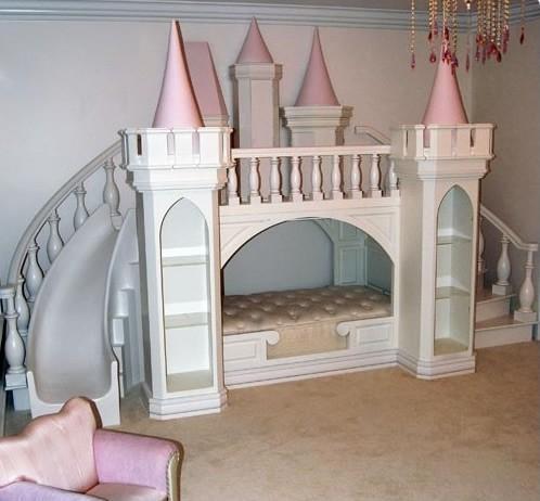 Piękny Zamek Dla Małej Dziewczynki Na Dzieci Zszywka Pl