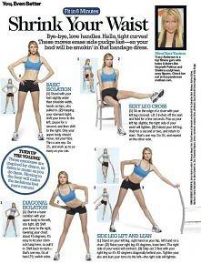 Ćwiczenia na talię