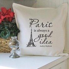 Paryż poduszka