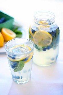 Borówki cytryna i mięta