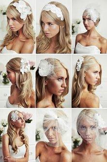 Ślubne fryzurki