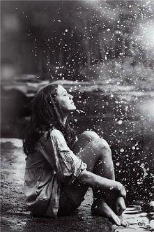 I Like Rain.... :*