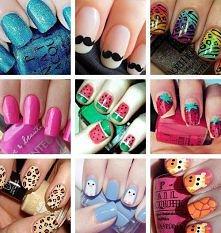 Ciekawe paznokcie:)