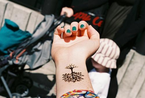 Drzewko Na Tatuaże 3 Zszywkapl