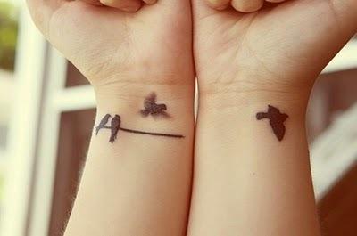 Ptaki na nadgarstkach
