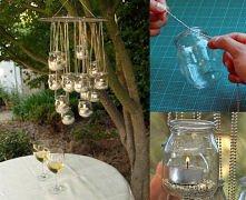 lampki z słoiczków