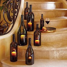 lampiony z butelek bez dna