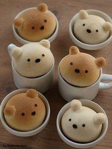 Misiowe muffinki