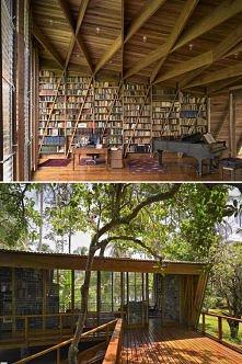 domowa biblioteka marzenie