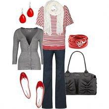 red + grey + white