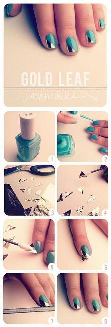 sreberkowe paznokcie