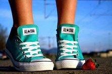 converse - świetny kolor ; D