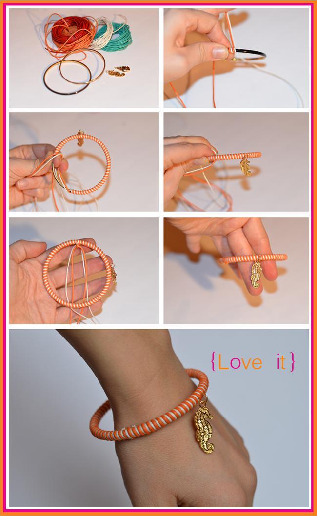 Как делать своими руками браслеты своими