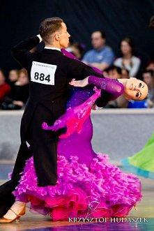 """To co kocham najbardziej- taniec towarzyski. (Kasia Roczniak i Michał Maj """"Szkoła Tańca SAMBA Tarnobrzeg"""")"""