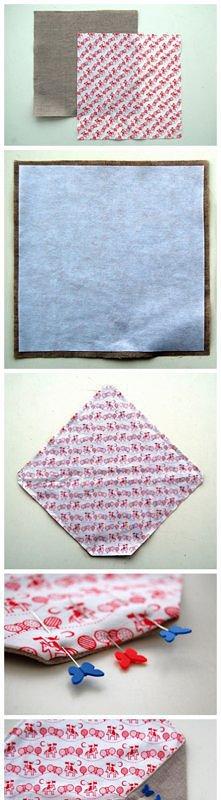 koperty z materiału