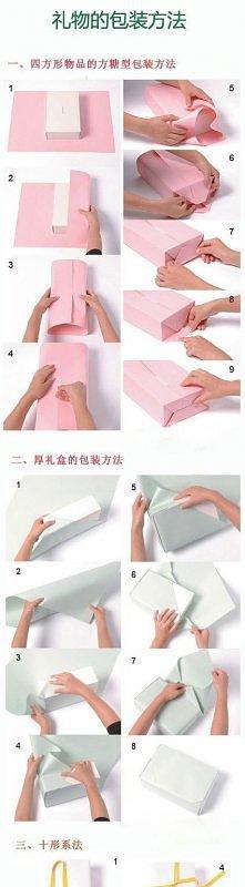 jak spakować prezent