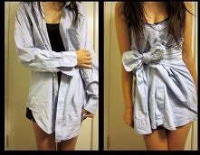 sukienka z koszuli