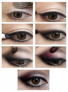 "Makijaż oczu ""krok po ..."