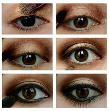 "Makijaż oczu ""krok po kroku"""