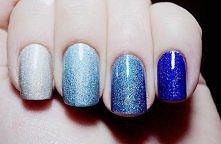 kosmiczne paznokcie ;)