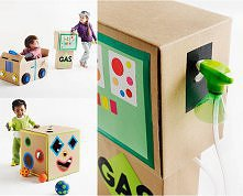 kartonowe zabawki