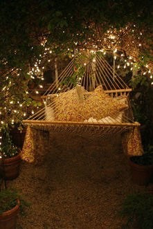 Taki hamak mieć w ogrodzie... marzenie