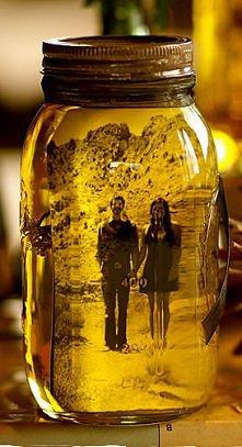Słoik i olej... na zdjęcie :)