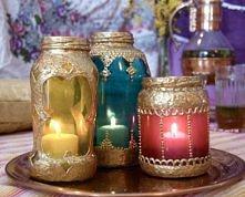 moroccan-inspired lanterns