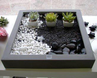 Mini ogr dek na parapecie na pomys y - Mobilier jardin zen besancon ...