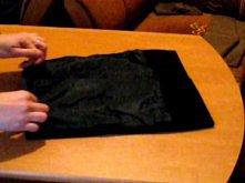 Torebka kopertówka - czarna