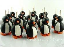 Oliwkowe pingwinki