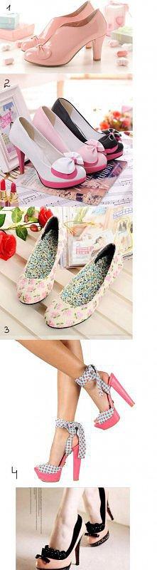 Słodkie buty. Które wybieracie? :)