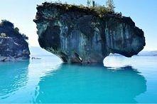 Chile, Patagonia (jaskinia marmurowa)