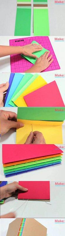 kolorowy zeszyt