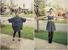 DIY sukienka z koszuli