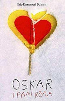 Oskar i Pani Róża. super książka.
