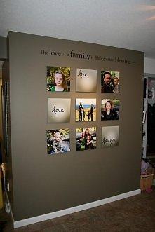 Rodzinna ściana