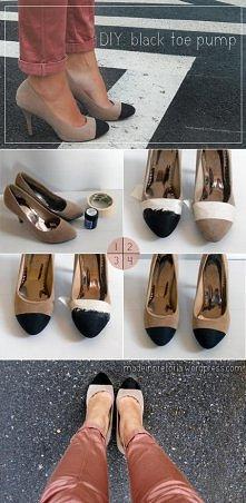 Pomysł na przerobienie starych butów