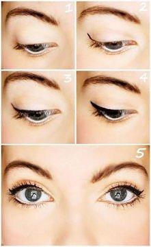 idealna kreska eyelinerem