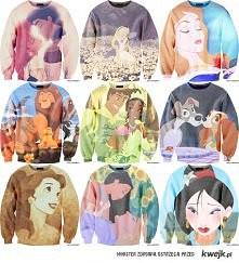 Disney, bluzy Chcę z Alicją...