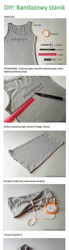 DIY: bandażowy stanik