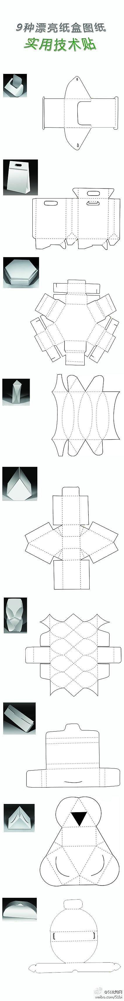 pomysły na pudełka