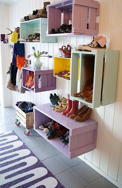 skrzynki na buty