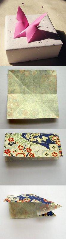 origami motyl