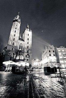 Kraków nocą! Trochę Polski <3