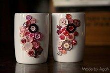 kubek/wazon róż
