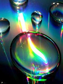 Shining drops.