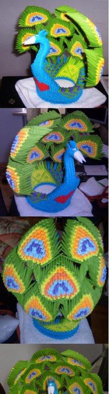 paw origami modułowe