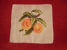 Słodkie pomarańcze...haft k...