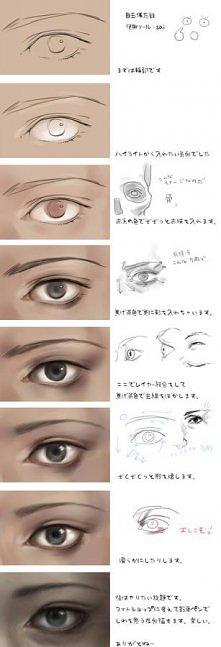 photoshop eye